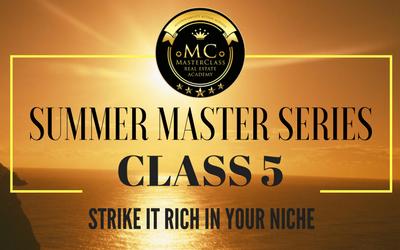 SUMMER SERIES CLASS 5