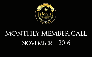 [NOV] Member Monthly Call