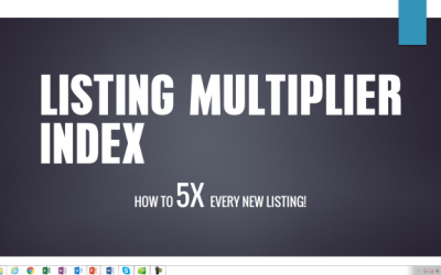 5X Your Business by Maximizing Your Listings
